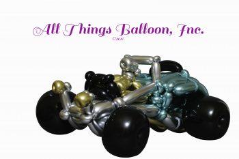 balloon artist - balloon hot rod