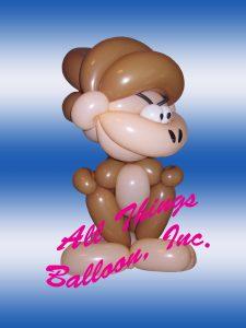 balloon twister - balloon gorilla