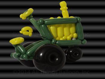 balloon artist - farm tractor