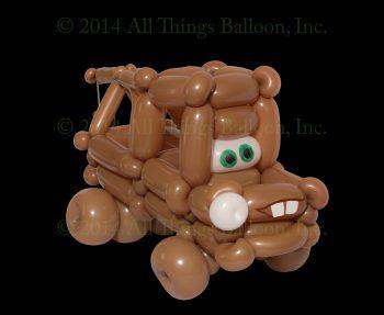 balloon artist - 'Mater tow truck