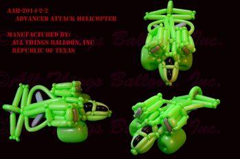 balloon artist - balloon sci-fi helicopter