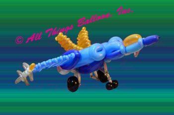 Balloon Artist - balloon fighter jet