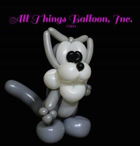 balloon artist - balloon wolf